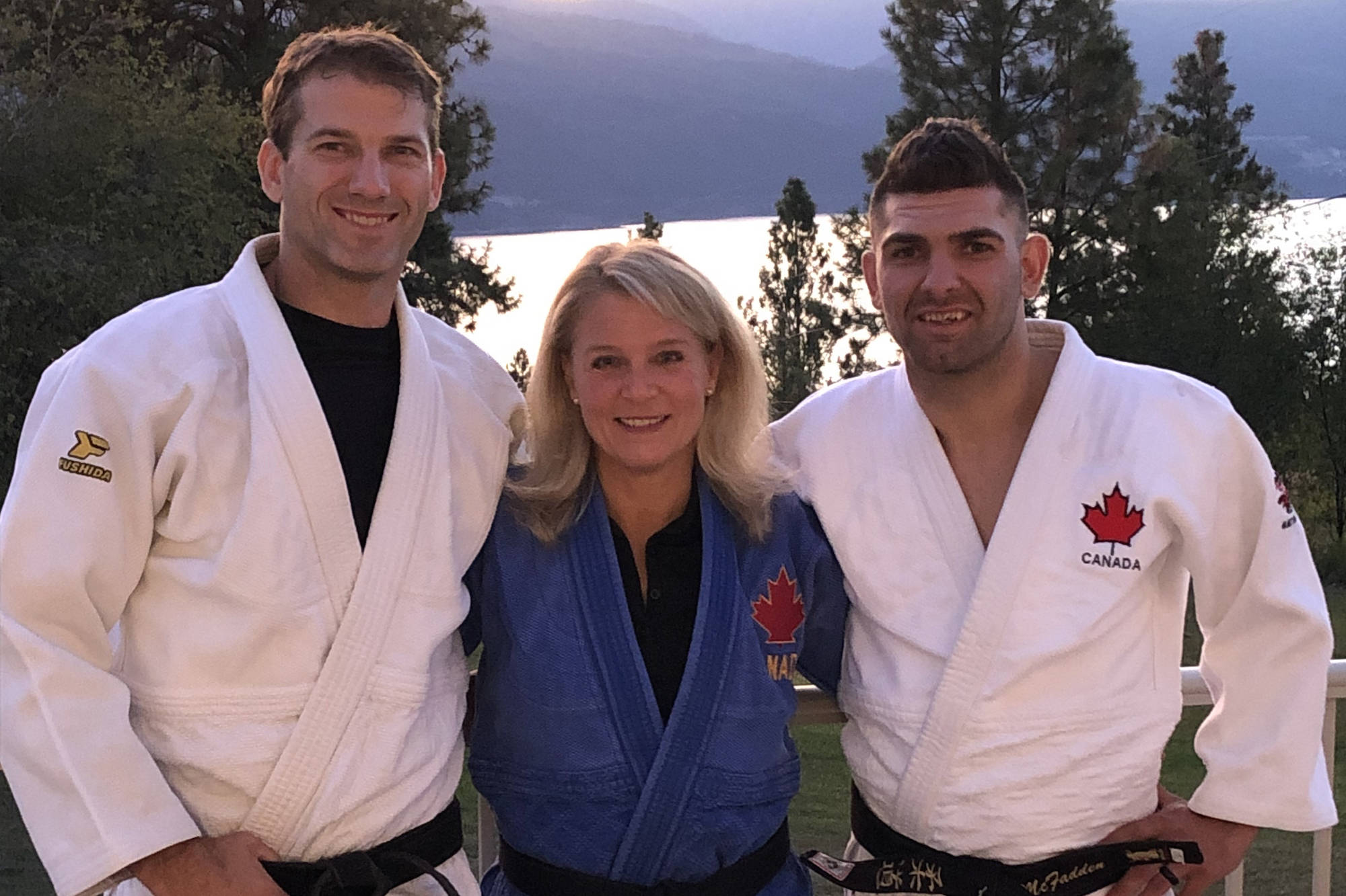 (From left) Chris Smiley, Kathy Hubble and Aaron McFadden are taking over the Lake Country Judo Club to help keep the local club strong. (Kathy Hubble)