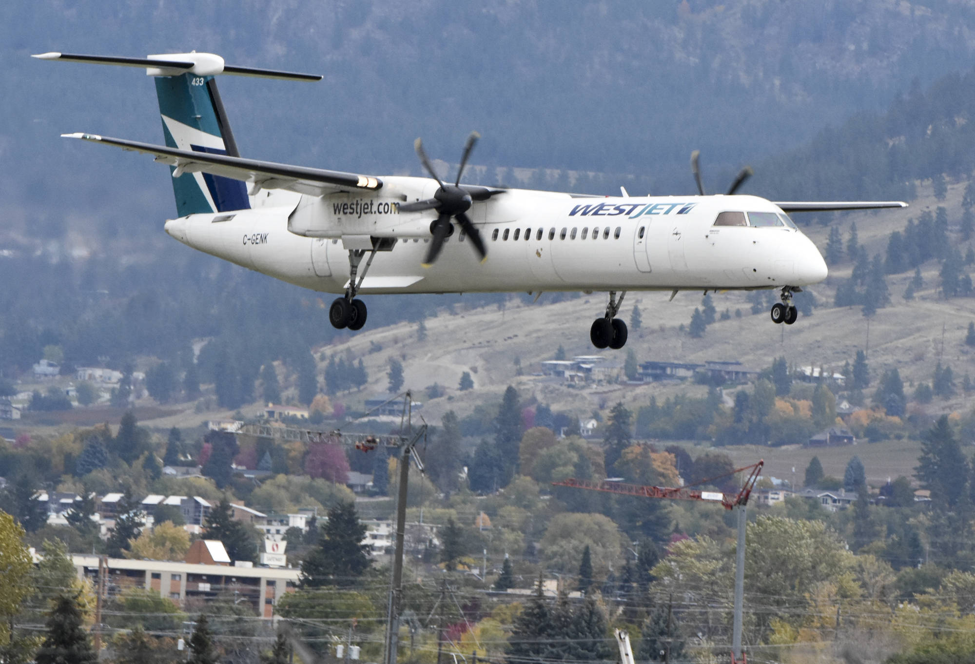 WestJet has added 11 new routes across Western Canada, the airline announced March, 26, 2021. (Mark Brett/Western News file)